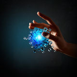 Cube in male hand Stock Photography