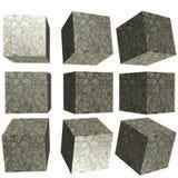 cube modelé par 3D Photo stock