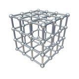 Cube model Royalty Free Stock Image