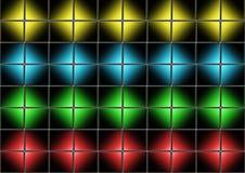 Cube mosaic Royalty Free Stock Image