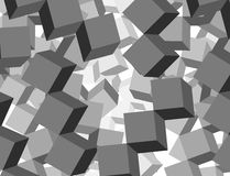 Cube mosaic Royalty Free Stock Photo