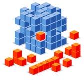 Cube o enigma Fotos de Stock