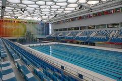 The Cube, Olympic National Park, Beijing. Insight of National Aquatic Center (Water Cube),National Aquatics Centre , Beijing, China Stock Photos
