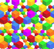 Cube pattern Royalty Free Stock Images