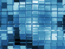 Cube pattern background Royalty Free Stock Photography