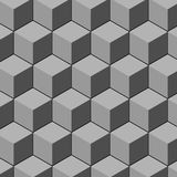 Cube pattern. Design vector art Royalty Free Stock Photo