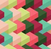 Cube pattern Royalty Free Stock Photos