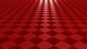 Cube pattern. Red cube pattern to use as background Stock Photography