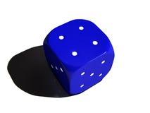 Cube pour le jeu Photographie stock libre de droits