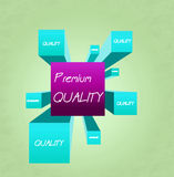 Cube - premium quality Stock Image