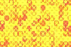 Cube Puzzle Pattern royalty free illustration
