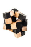 Cube puzzle Royalty Free Stock Photos