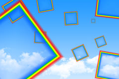 Cube Rainbow Royalty Free Stock Photos