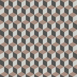 Cube seamless pattern Stock Photos