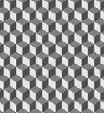 Cube seamless pattern Royalty Free Stock Photo