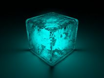 Cube of secrets Royalty Free Stock Photography