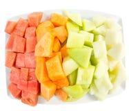 Cube Sized Melons, Honeydew VIII Stock Photos