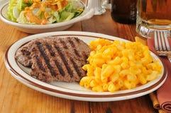 Cube steak dinner Stock Photography