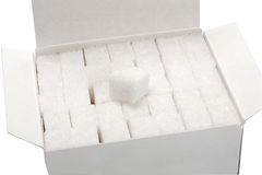 Cube sugar Stock Images