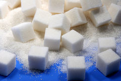 Cube sugar Royalty Free Stock Image