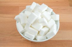 Cube sugar Royalty Free Stock Photos