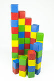 Cube tower Royalty Free Stock Image