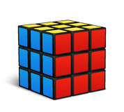 Cube toy puzzle vector illustration Royalty Free Stock Images