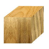 Cube with variety of wood samples Royalty Free Stock Photography