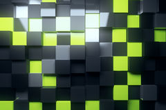 Cube wallpaper Royalty Free Stock Photo
