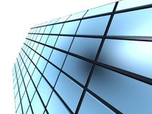 Cube windows Stock Photo