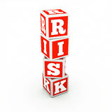 Cube with word Royalty Free Stock Photos