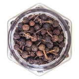 Cubeb pepper isolated on white background Stock Image