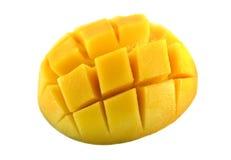 cubed манго Стоковые Фотографии RF