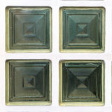 Cubed Glass Window (2) Stock Image