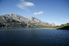 Cuber-Wasserreservoir, Escorca, Mallorca, Mallorca, Spanien Lizenzfreie Stockfotos