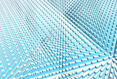 cubes вектор interspace Стоковая Фотография