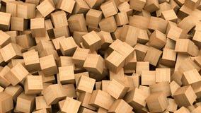 cubes древесина бесплатная иллюстрация