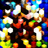 cubes деревянное Стоковое Изображение RF