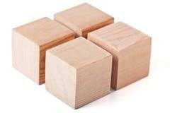 cubes деревянное Стоковое Фото