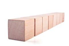 cubes деревянное Стоковые Фото
