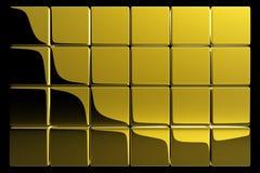 cubes золото бесплатная иллюстрация