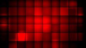 cubes красный цвет Стоковая Фотография