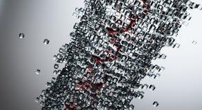 cubes стекло Стоковое фото RF
