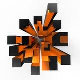 cubes стекло Стоковые Изображения RF