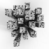 cubes технология Стоковое фото RF