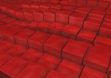 Cubes. 3d rendered image of Cubes with random height Royalty Free Stock Photography