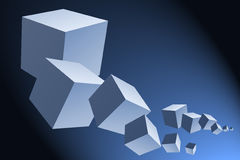 Cubes Royalty Free Stock Images