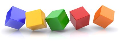 Cubes Royalty Free Stock Photos
