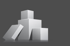 Cubes Royalty Free Stock Photography