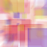 Cubes. Abstract radial blur Royalty Free Stock Photography